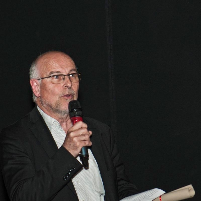 Serge Cazenave, représentant GRTGaz, contributeur du Grand Prix du Festival-GRTgaz (5000 euros) attribué au meilleur film du Festival.