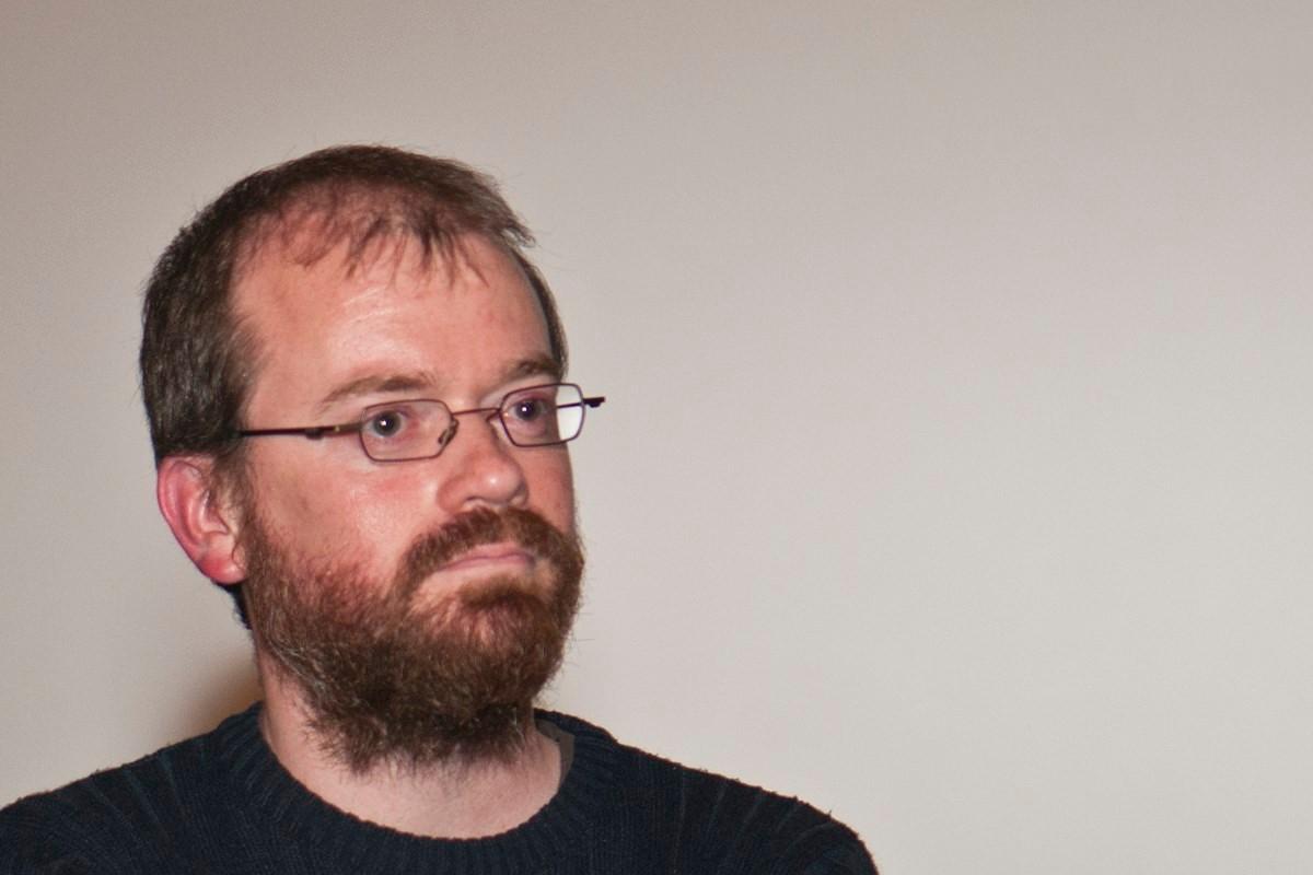 """David Geoffroy, réslisateur du documentaire """"des Gaulois dans la plaine"""""""