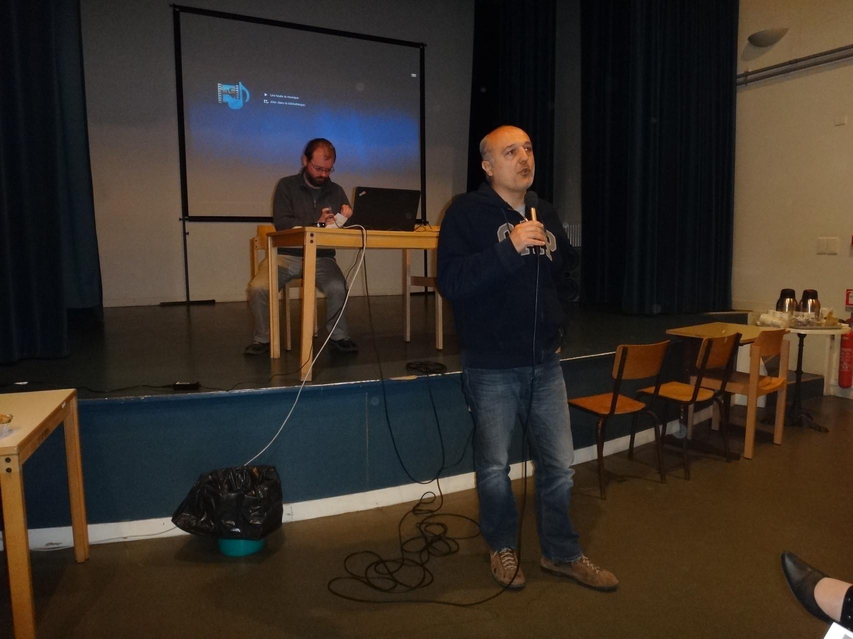 """Stéphane Kowalczyk, réalisateur du documentaire """"Restauration de la Maison Carrée"""""""