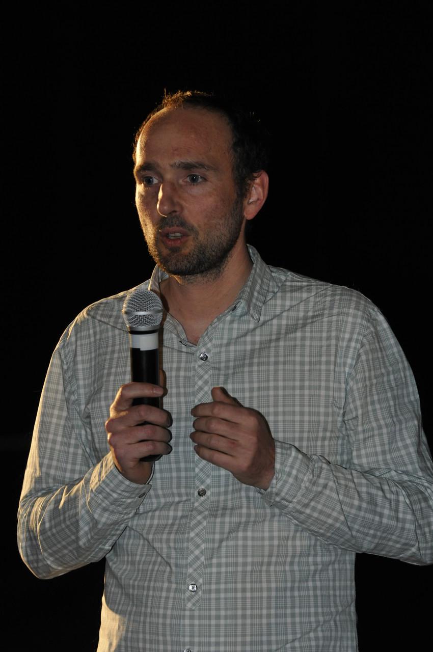 Lucas Reboul, réalisateur, présente Sur le fil d'Arnal, un préhistorien héraultais et européen
