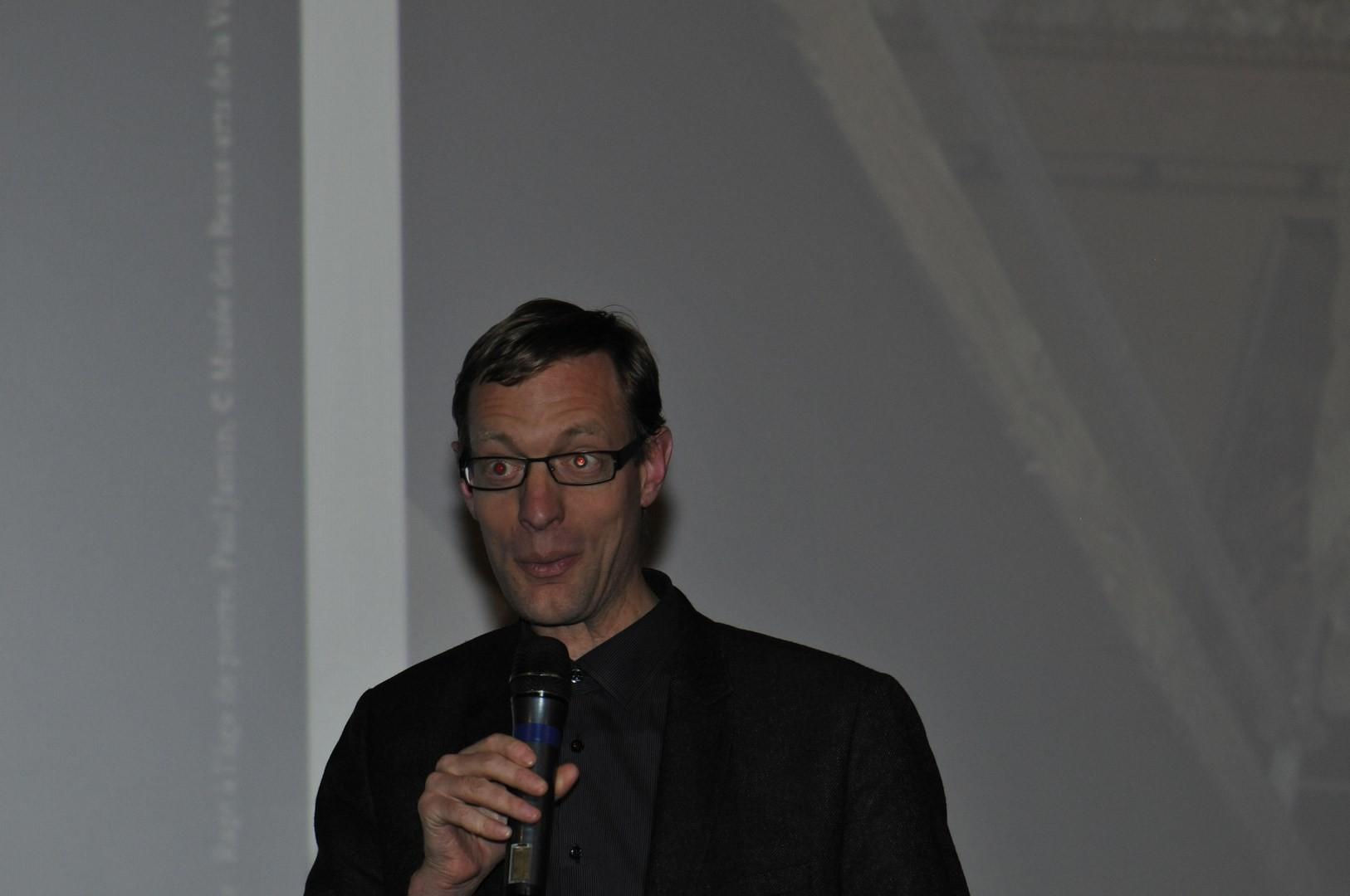 Blaise Pichon, président du jury