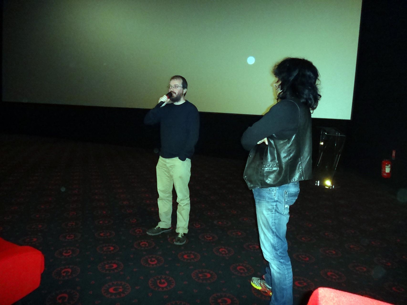 """David Geoffroy, réalisateur du documentaire """"le vin des terres lyonnaises""""."""