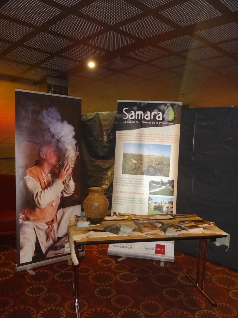Le stand de Samara