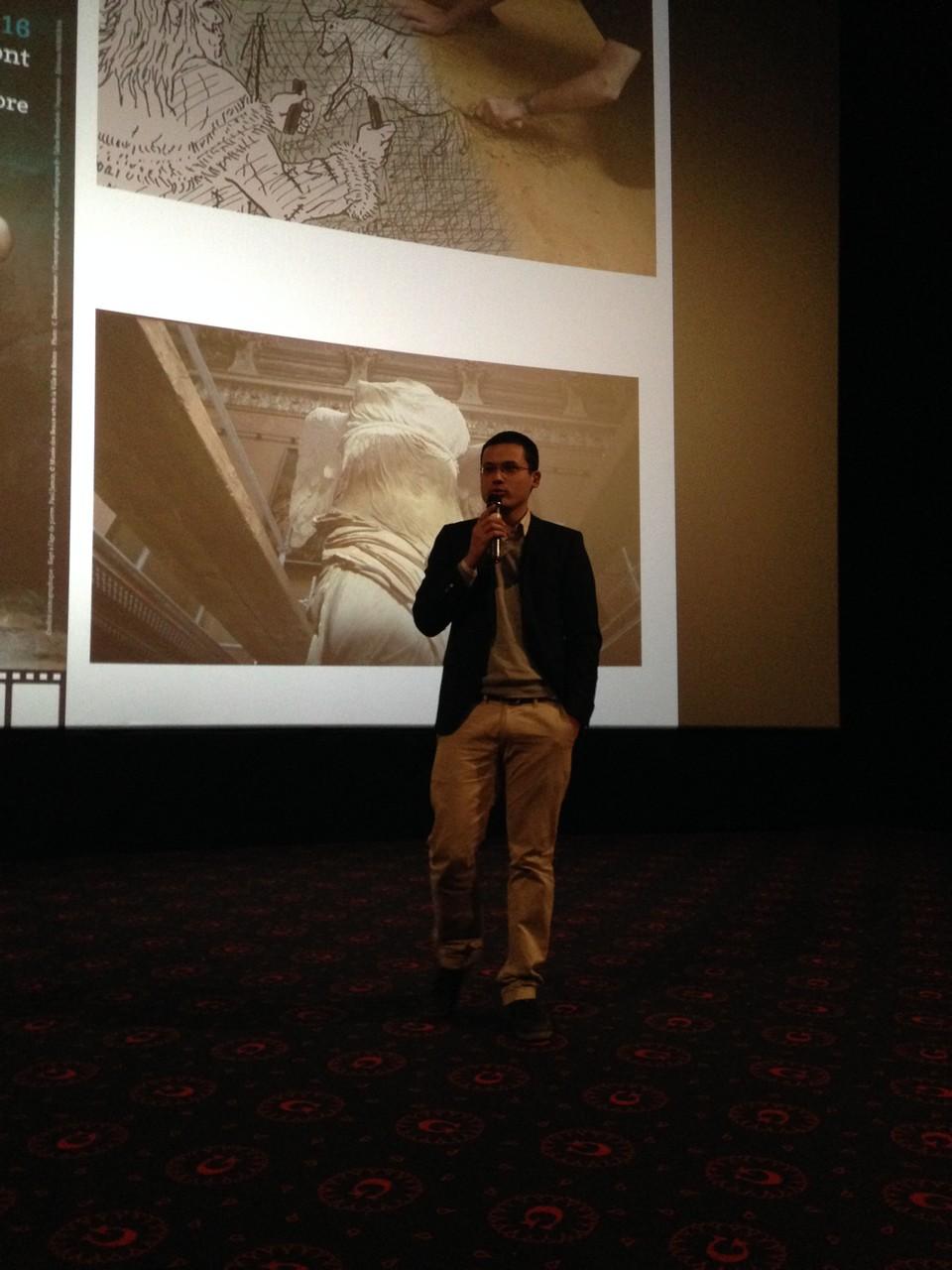 Adrien Bossard, animateur de la séance de clôture