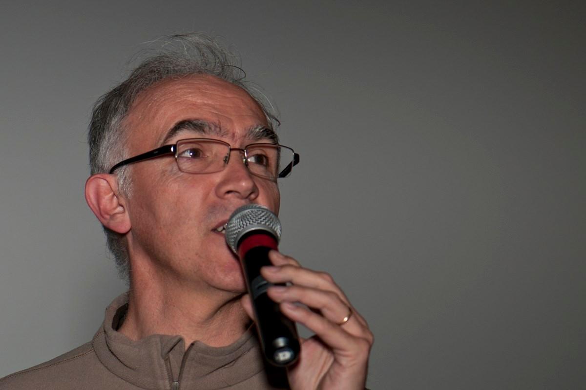 """Jean-Luc Rieu, intervenant de """"Les chasseurs de Pincevent""""."""