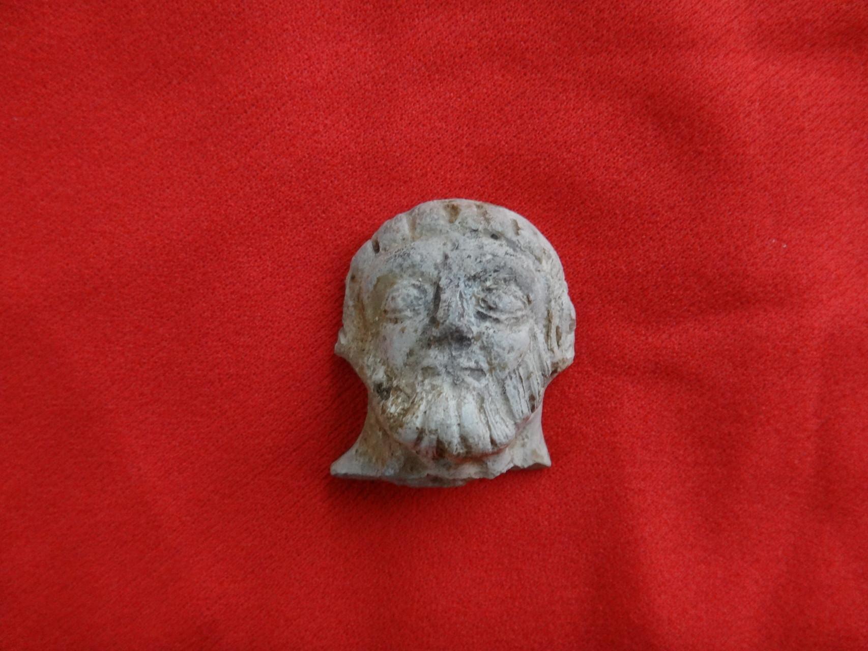 Fragment de statuette en terre cuite de l'Allier