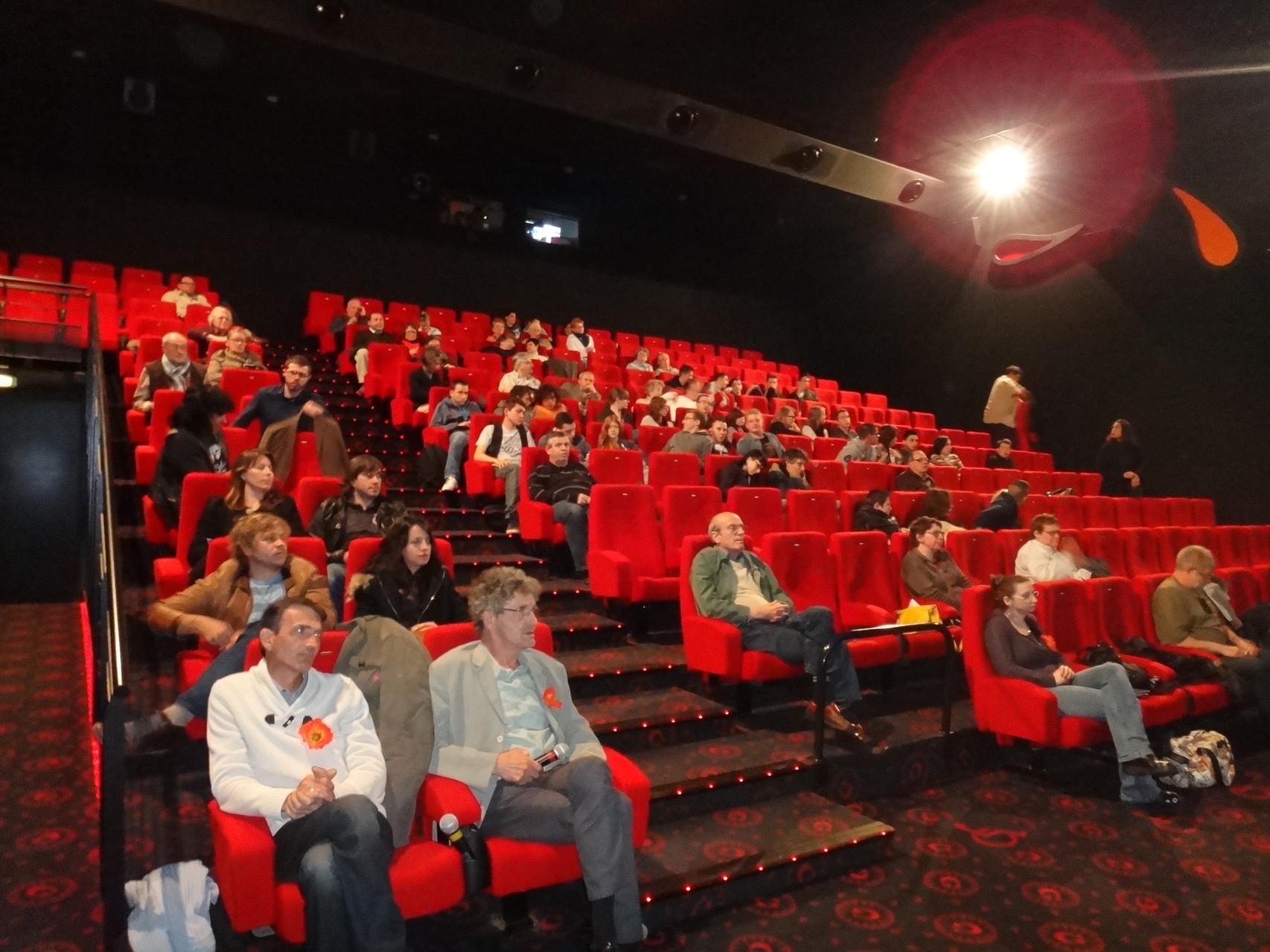 Un public attentif... maispas aussi nombreux qu'espéré !