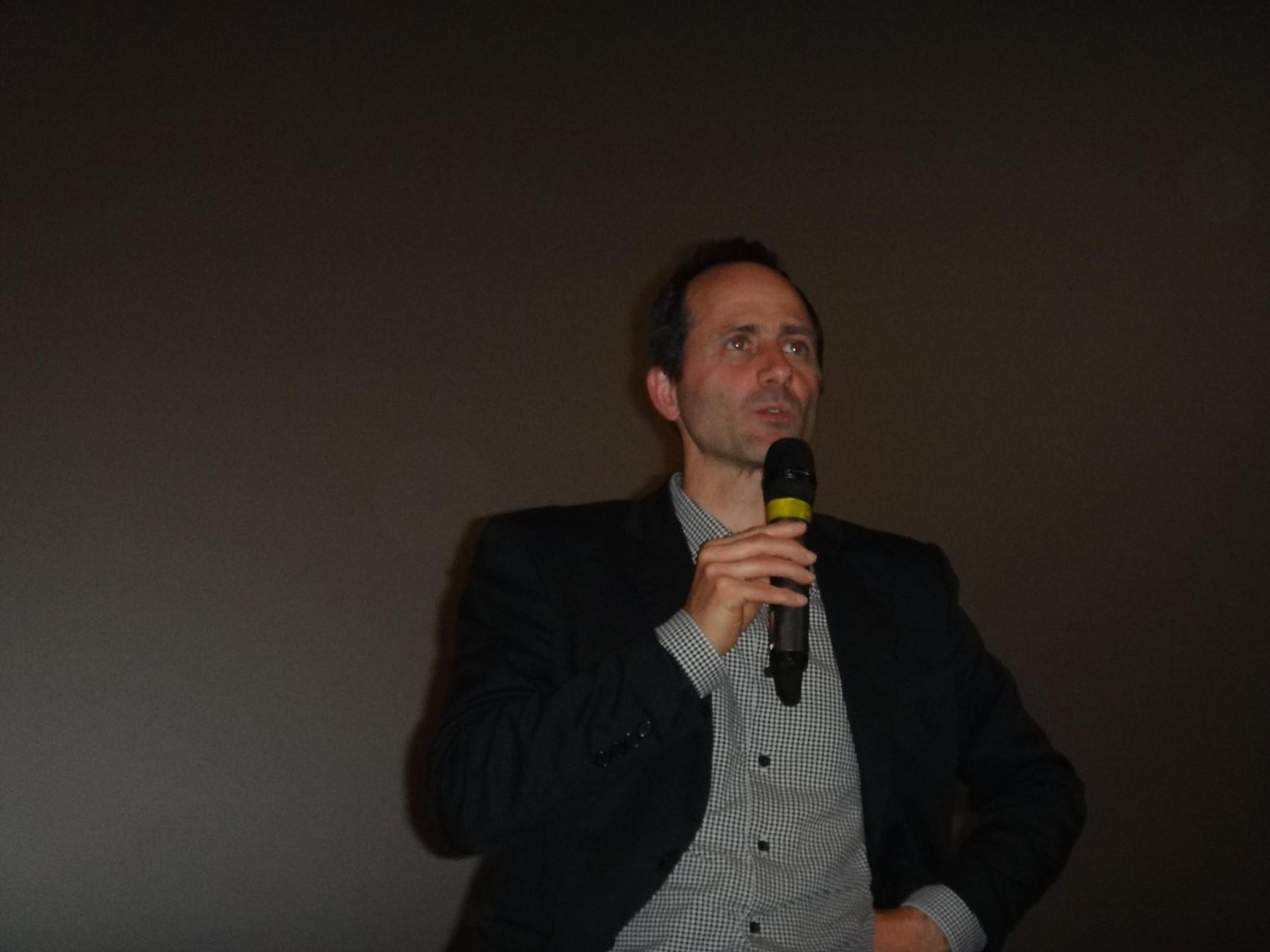 """Pascal Guérin, réalisateur de """"Opération Lune, l'épave cachée du roi soleil""""."""