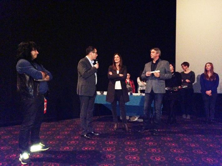 """Grand prix du festival -GRT gaz (5000 euros) décerné à """"Les secrêts du Colisée"""", réalisé par Pascal Cuissot et Gary Glassman"""