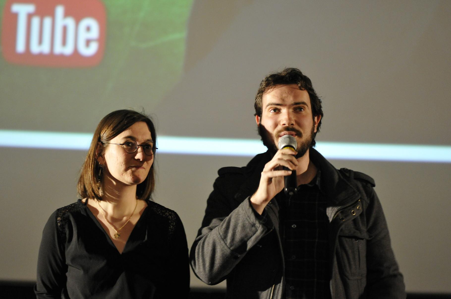 Fabien Campaner et Lucie Card présentent Les Archéologues - Les Clichés de l'Histoire au Cinéma, qui obtiendra une mention spéciale du jury