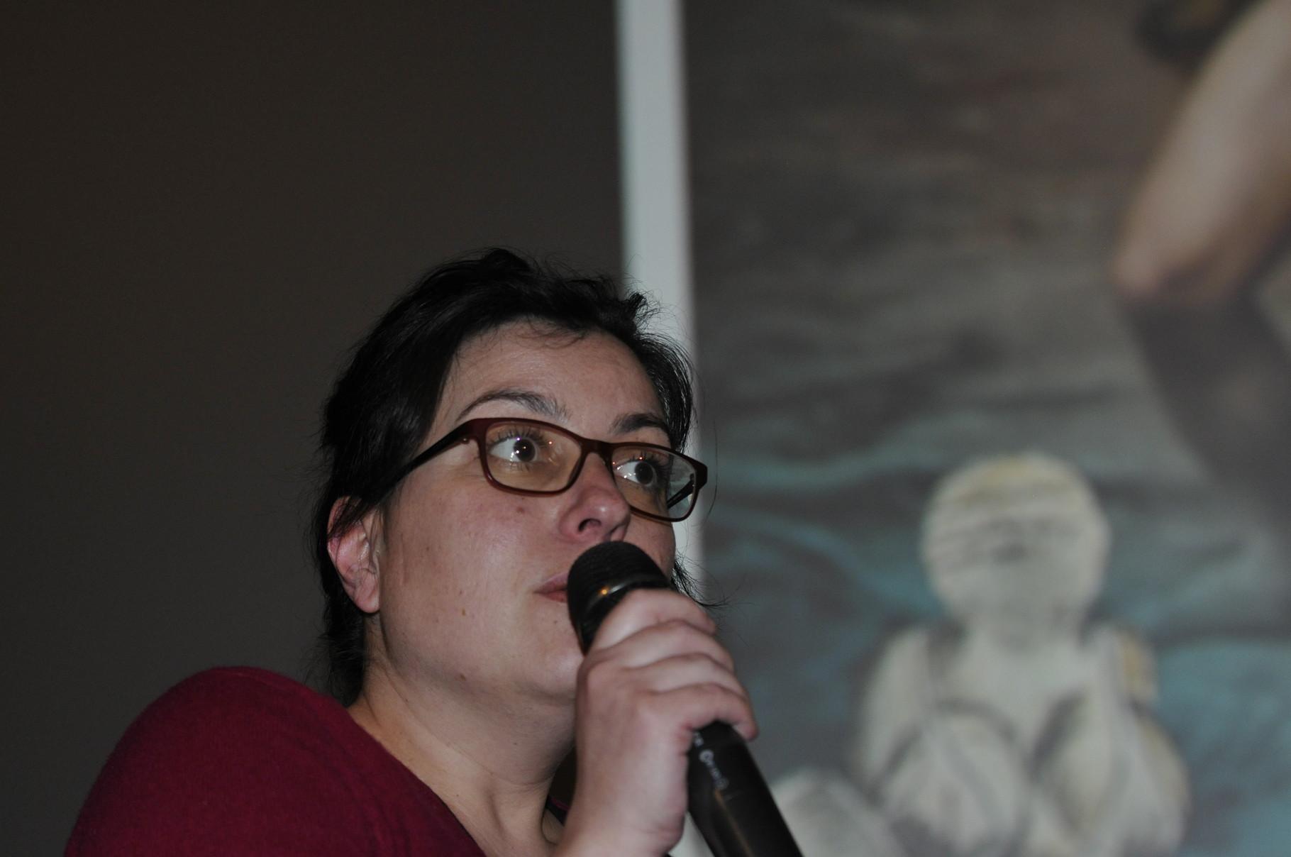 Marie-Anne Sorba, réalisatrice, présente L'énigme du Grand Menhir