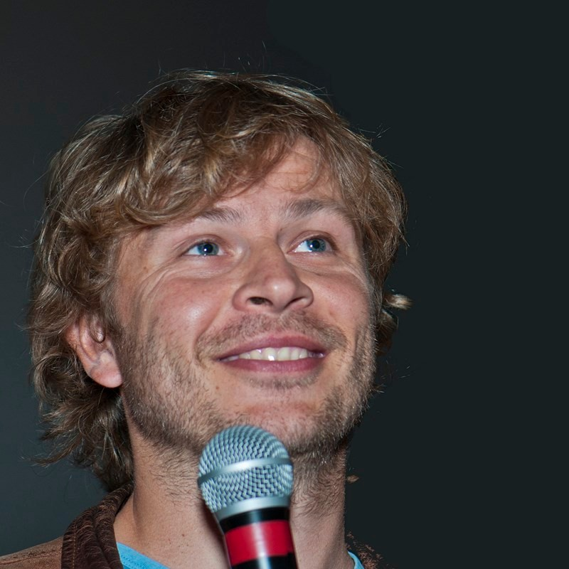 """Cédric Robion, réalisateur du documentaire """"Le sarcophage glacé de Mongolie""""."""