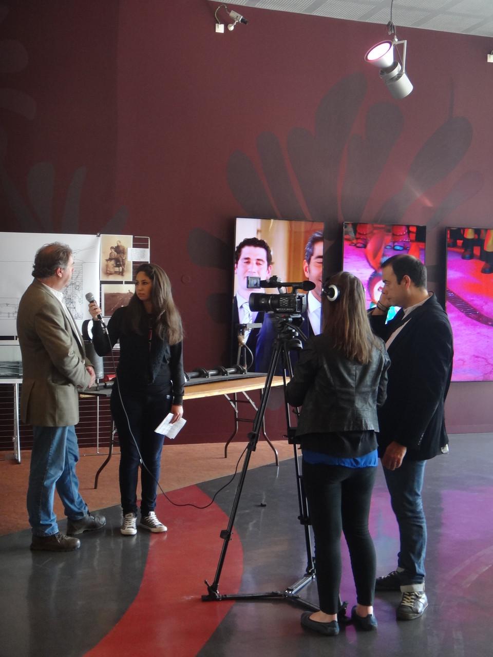 Interview de Peter barton par le lycée de La Hotoie.