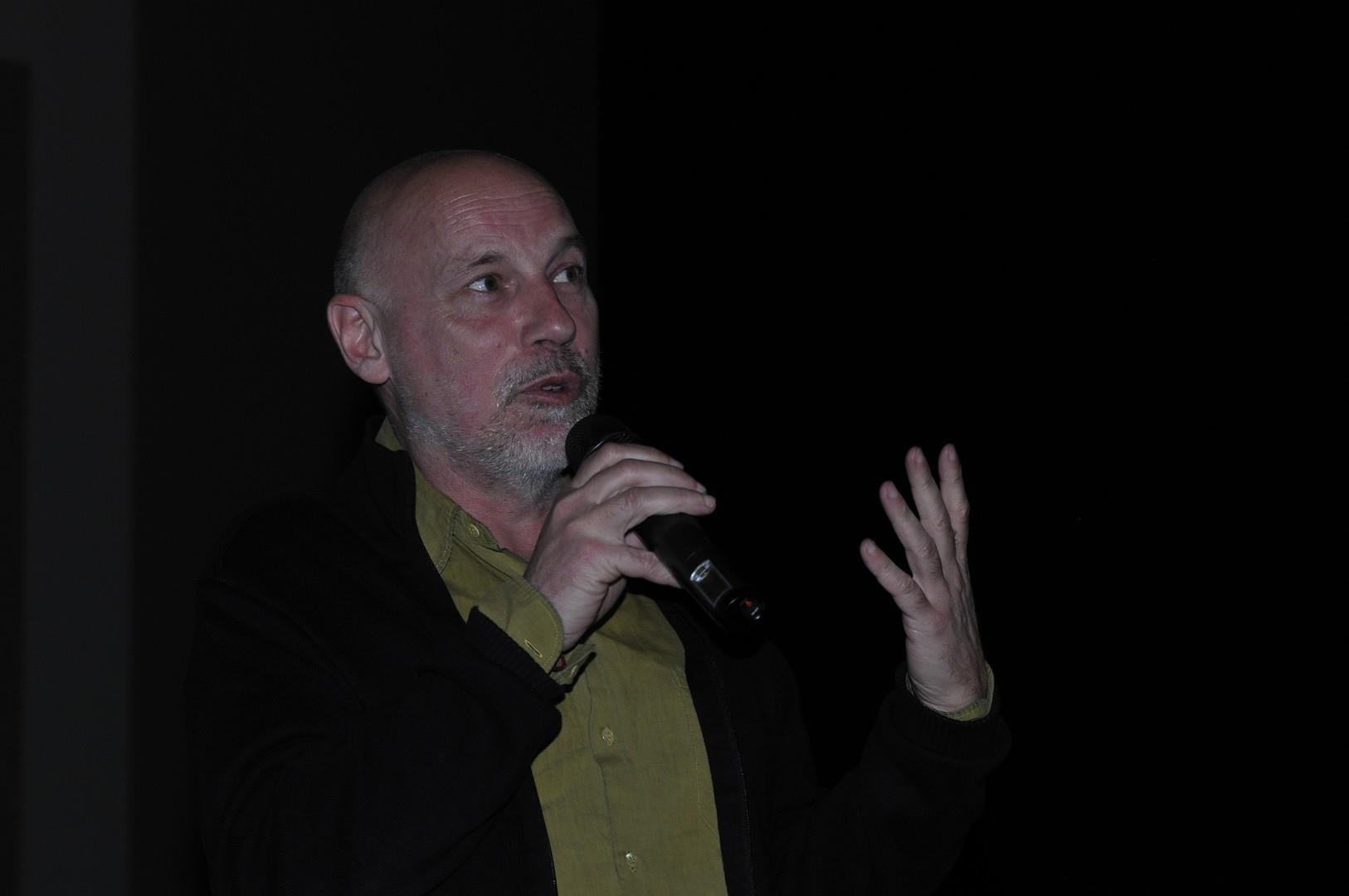 Dominique Adt, réalisateur, présente Pompéi, entre l'eau et le feu