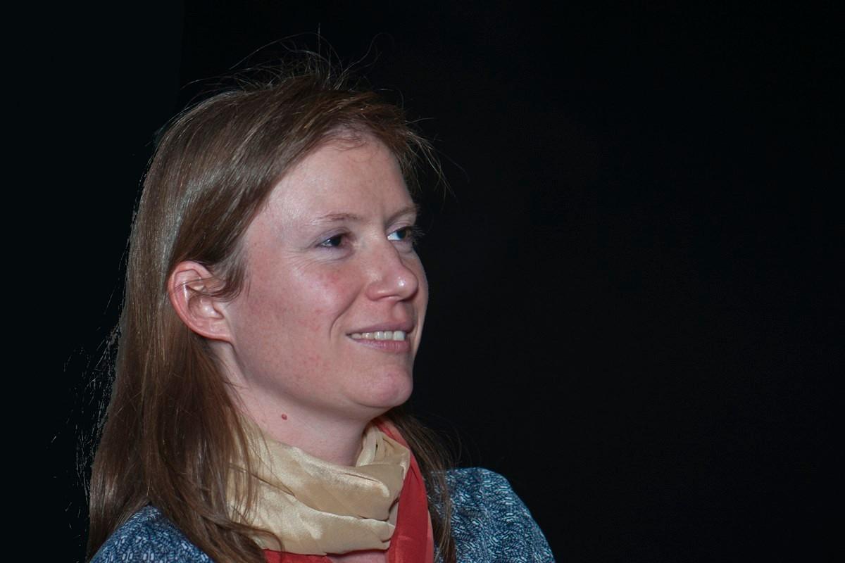 """Caroline Briner, réalisatrice du documentaire """"Ma maison à Boroo Gol, cinq archéologues suisses en Mongolie""""."""