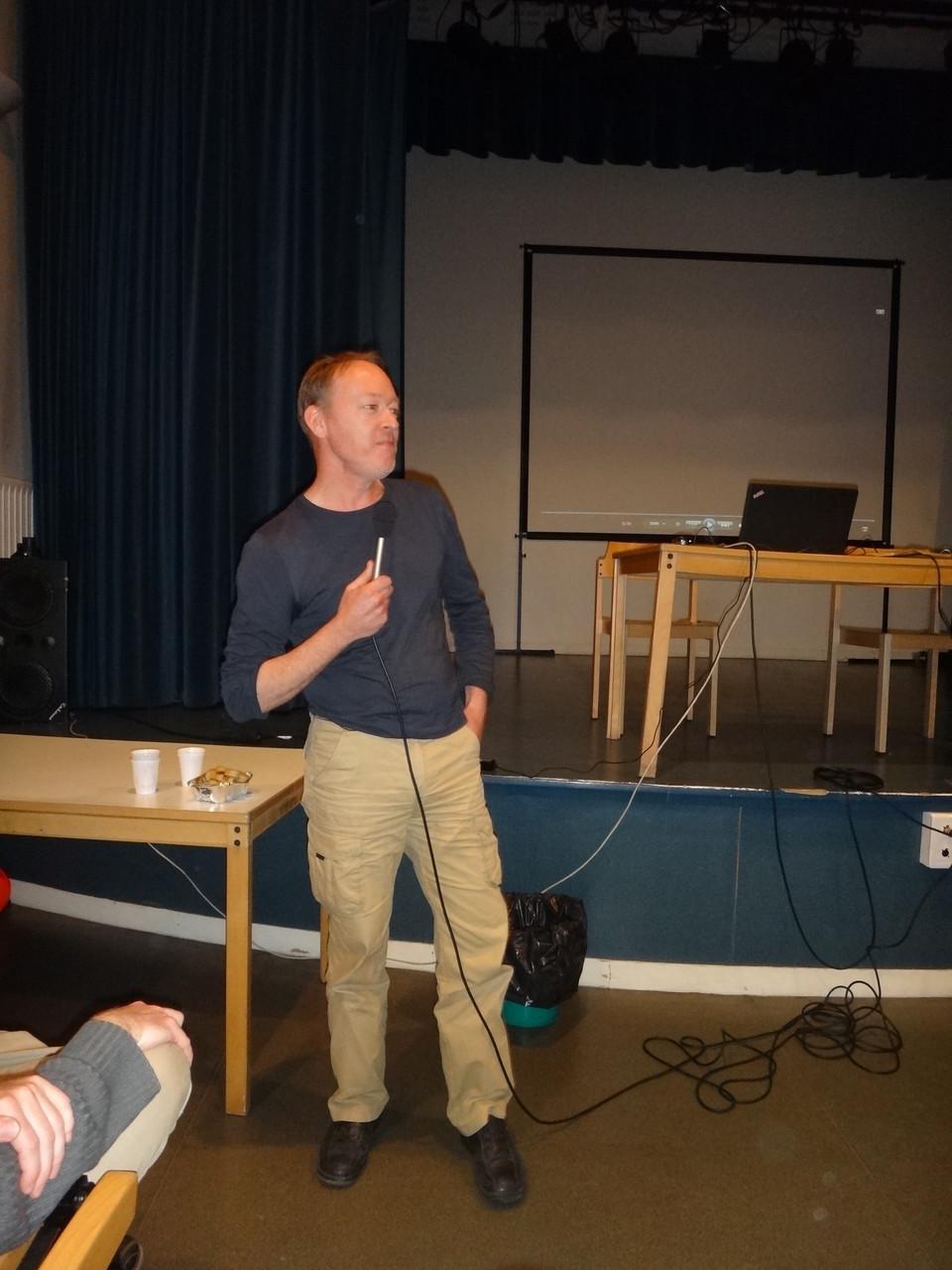 "Rob Hope, réalisateur du documentaire ""Convergence vers Lugdunum""."