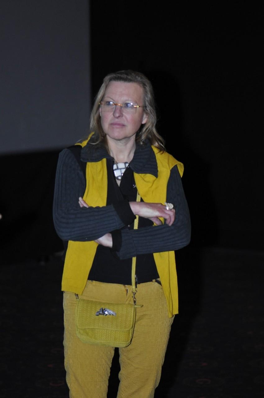 Sandrine Coignard, restauratrice d'oeuvre d'art, répond aux questions du public sur Sous le regard de Neptune