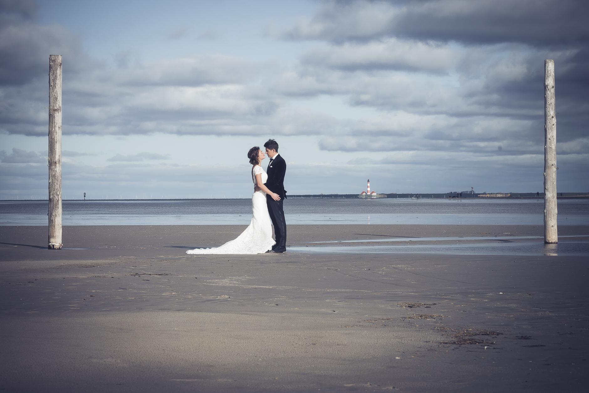 der perfekte Rahmen für das Hochzeitsbild