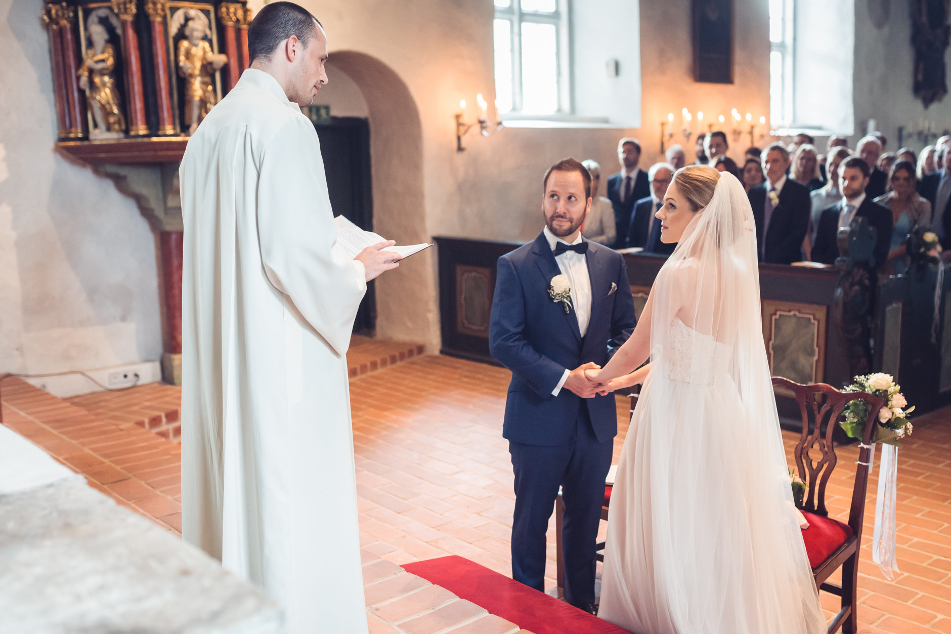 Hochzeit in der super schönen Bergstedter Kirche