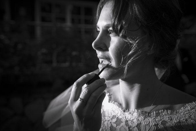 Hochzeitsreportage - Getting Ready der Braut - Selber das Makeup machen