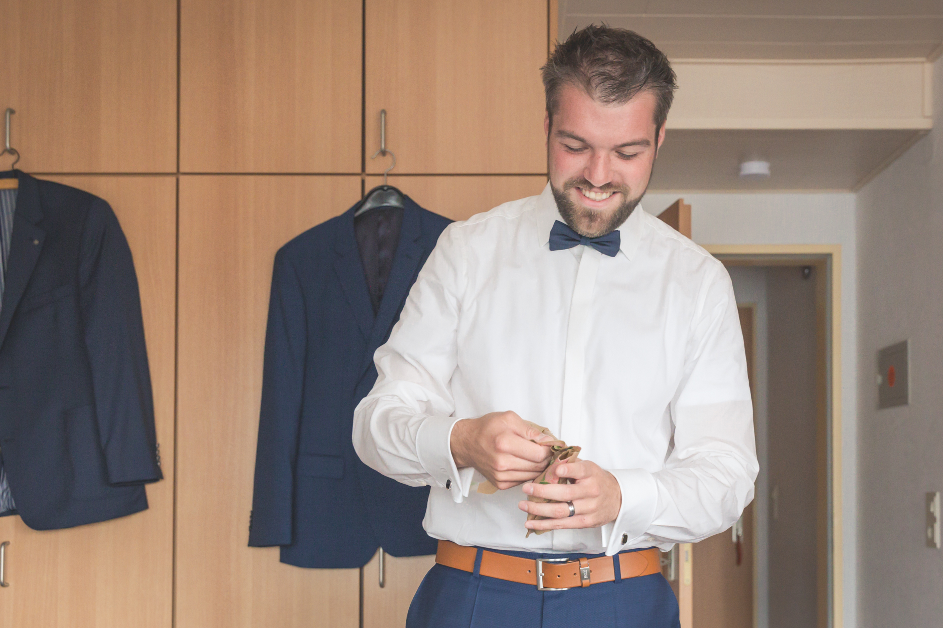 Getting Ready Bräutigam