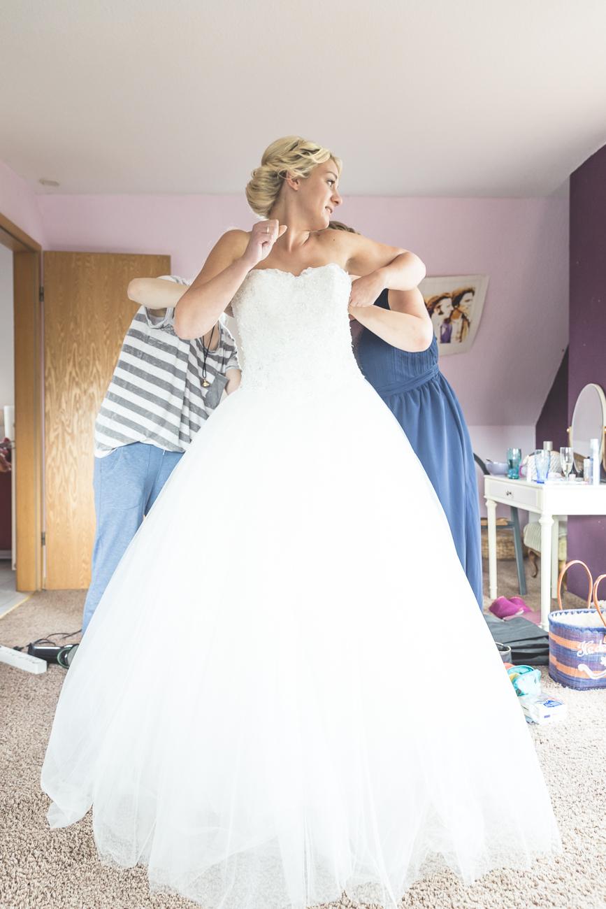 Was für ein Brautkleid