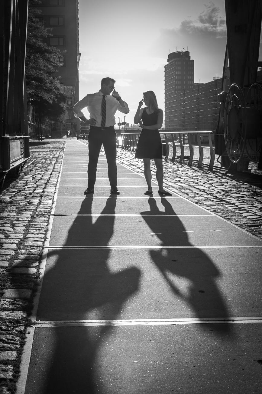 Hochzeitsfotografie Hamburg - WarmUp-Shooting in der Hafencity
