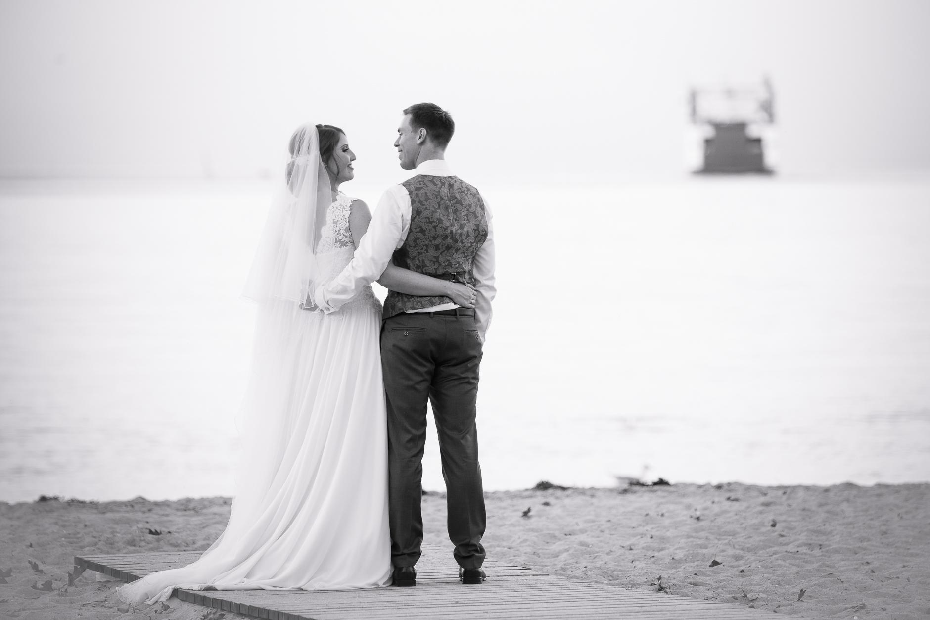 Heiraten und Feiern am Strand in Kiel