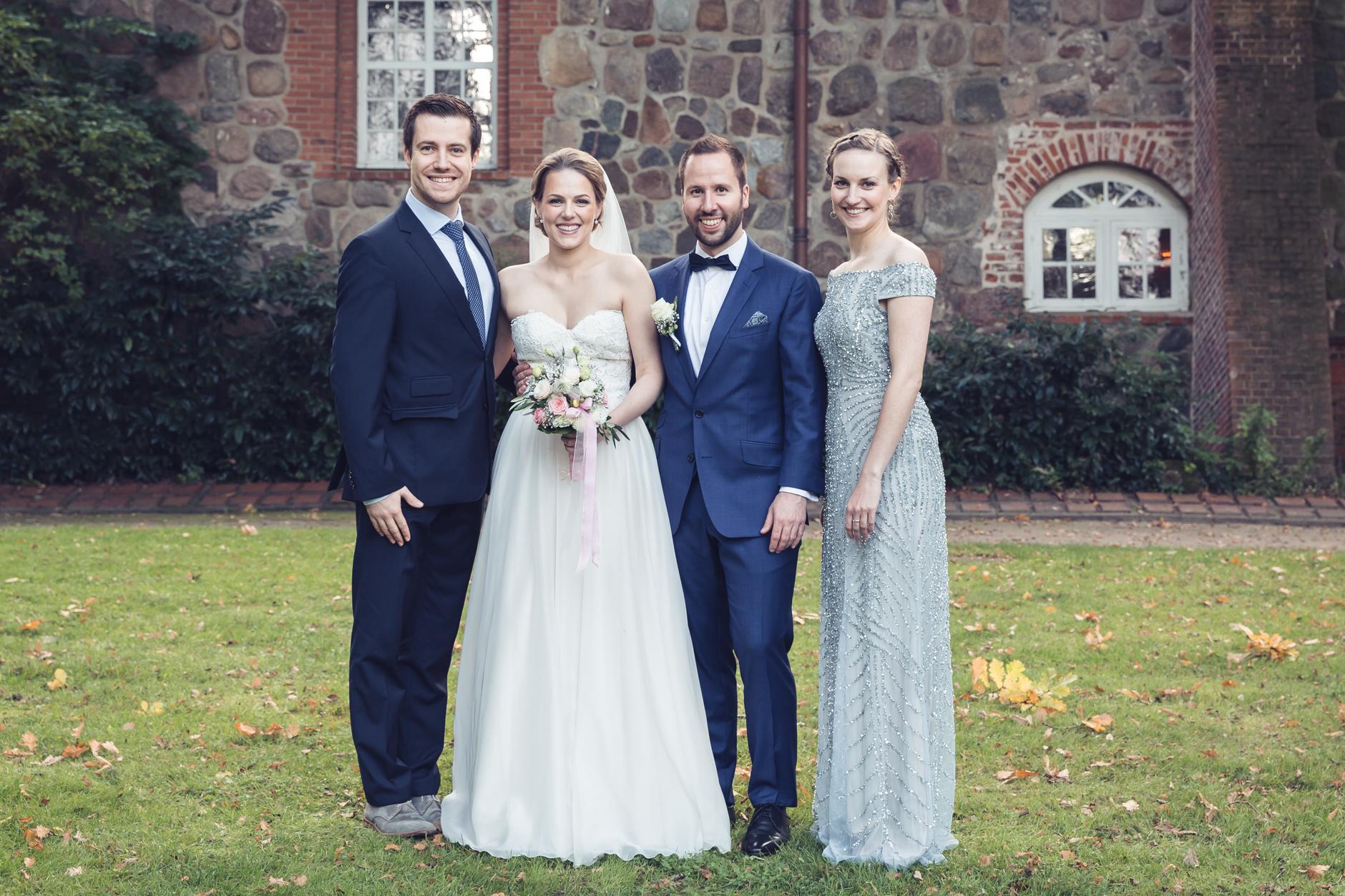 Heiraten ist ansteckend, zwei Jahre später, waren wir wieder dabei, in verteilten Rollen