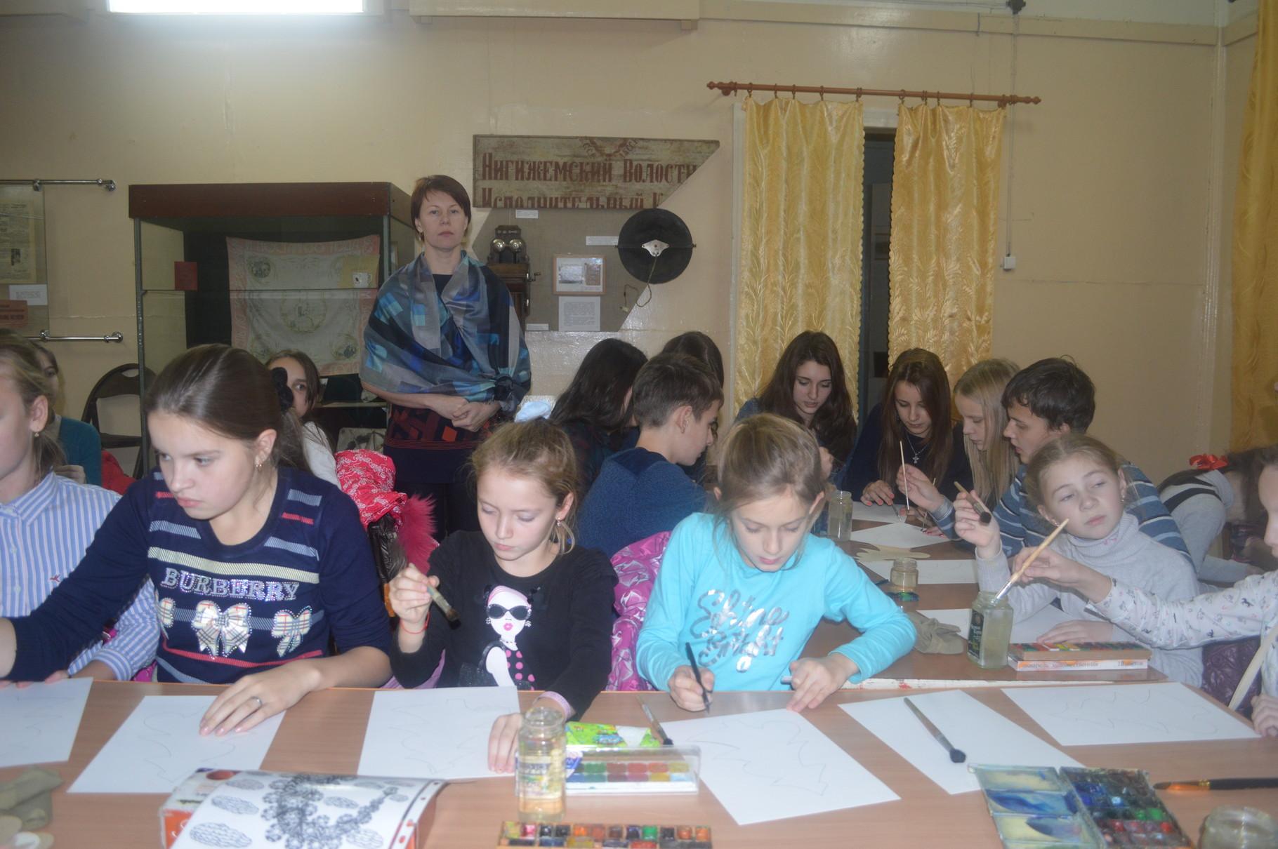 Мастер-класс с художником Анной Грязновой