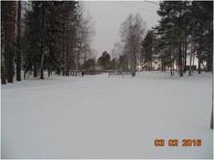 Площадка, которую планируется превратить в спортивно-досуговую зону для населённого пункта