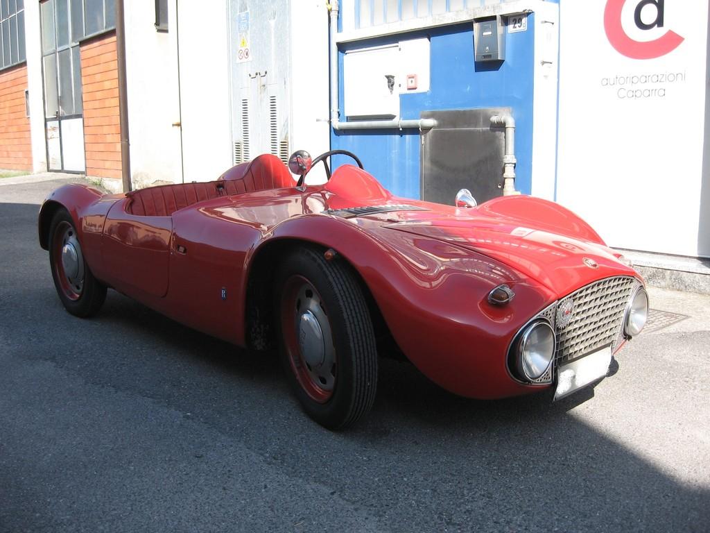 Fiat Topolino - anno 1936 modificata dalla carrozzeria Riva di Merate nel 1954