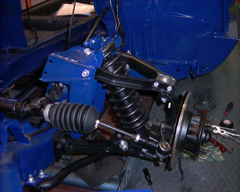 Motaggio sospensione anteriore e freni