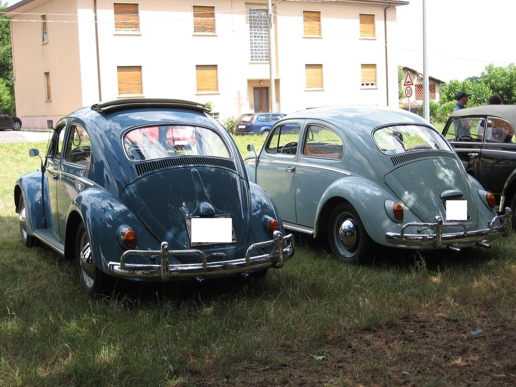 vw maggiolino - anni 1961 e 1964