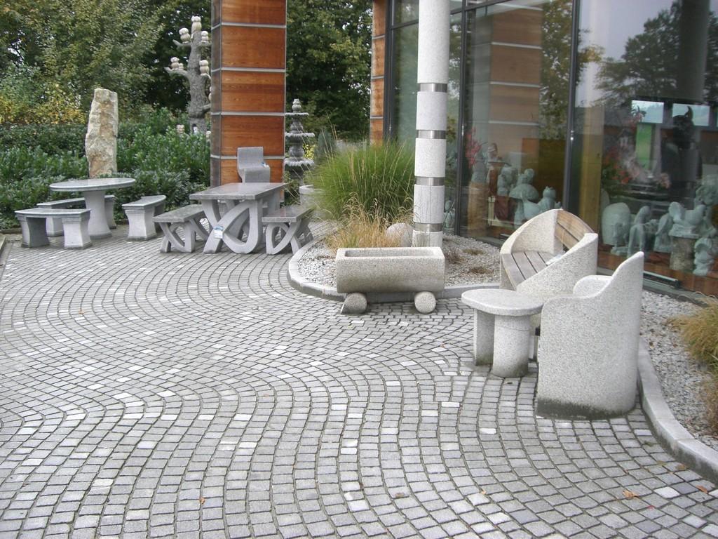 In Hauzenberg in Bayern, das Steinmuseum