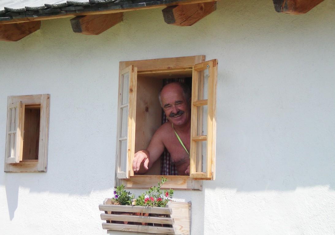 Fensterln beim Tag ( Verabschiedung v. Häusl )