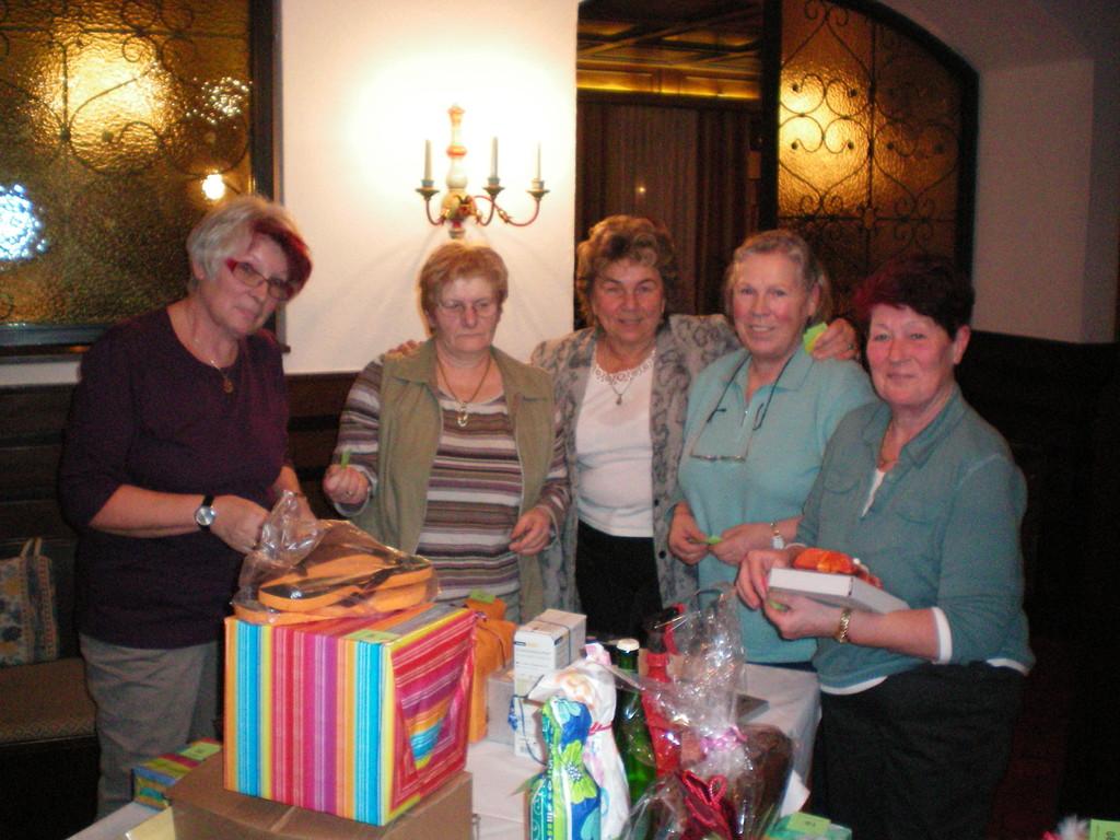 Astrid, Ernie, Irmi, Monika, Pauline