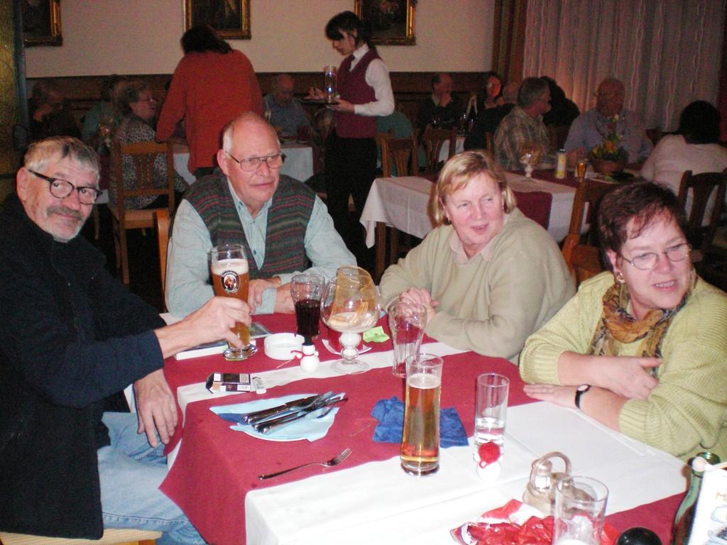 Reinhard, Friedl, Monika, Ingeborg