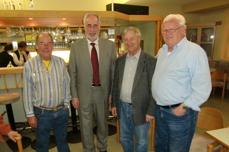 Mit Regierungsrat,Bürgermeister Franz Zwicker