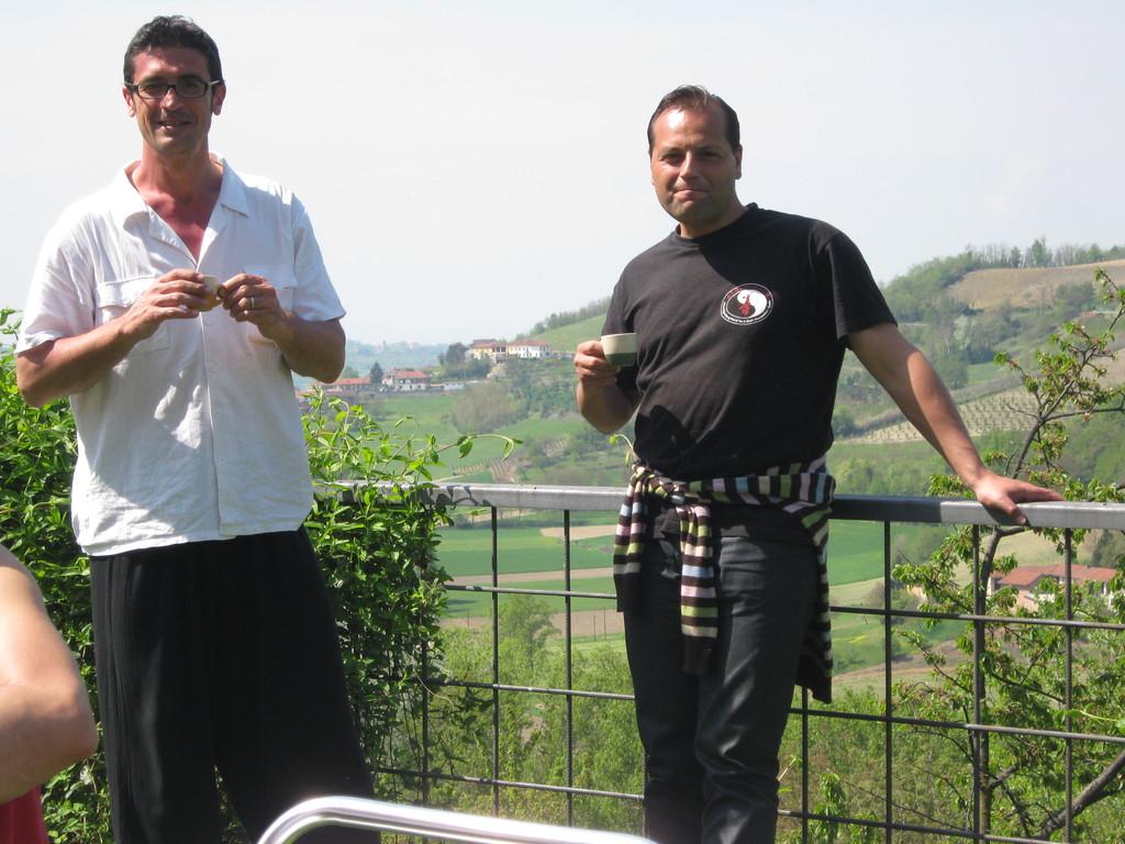 Il Maestro Pace con Alessandro