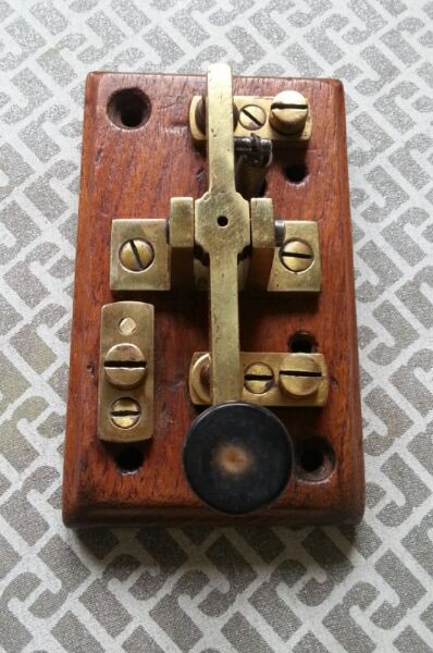 Early Artentinian GPO telegraph key