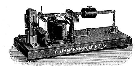 Electromagnetic hammer sound E. 1928. Psychologische und Physiologische Apparate
