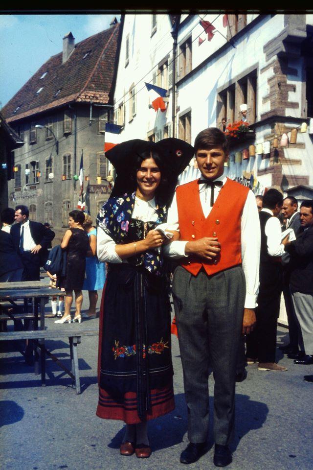 1966 : François Baur et Gaby Wurges