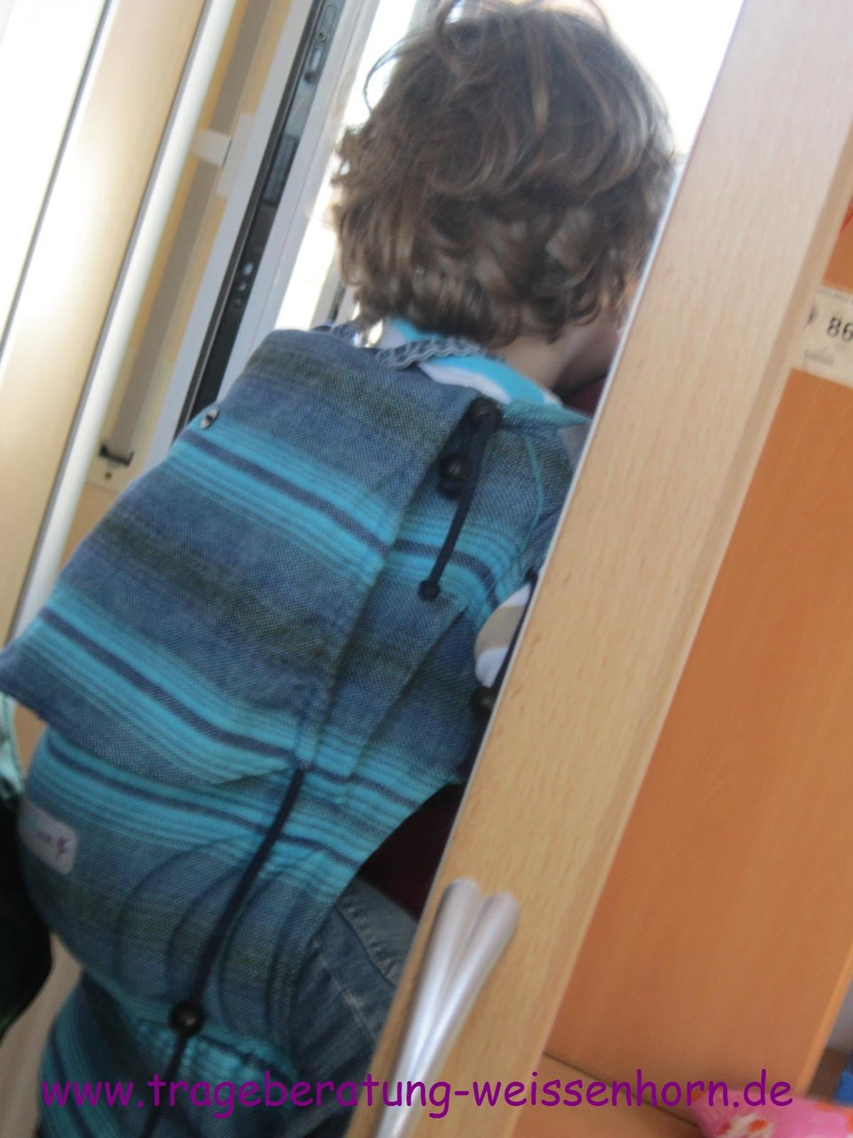 JoNo-Babytrage mit 3-Jährigem