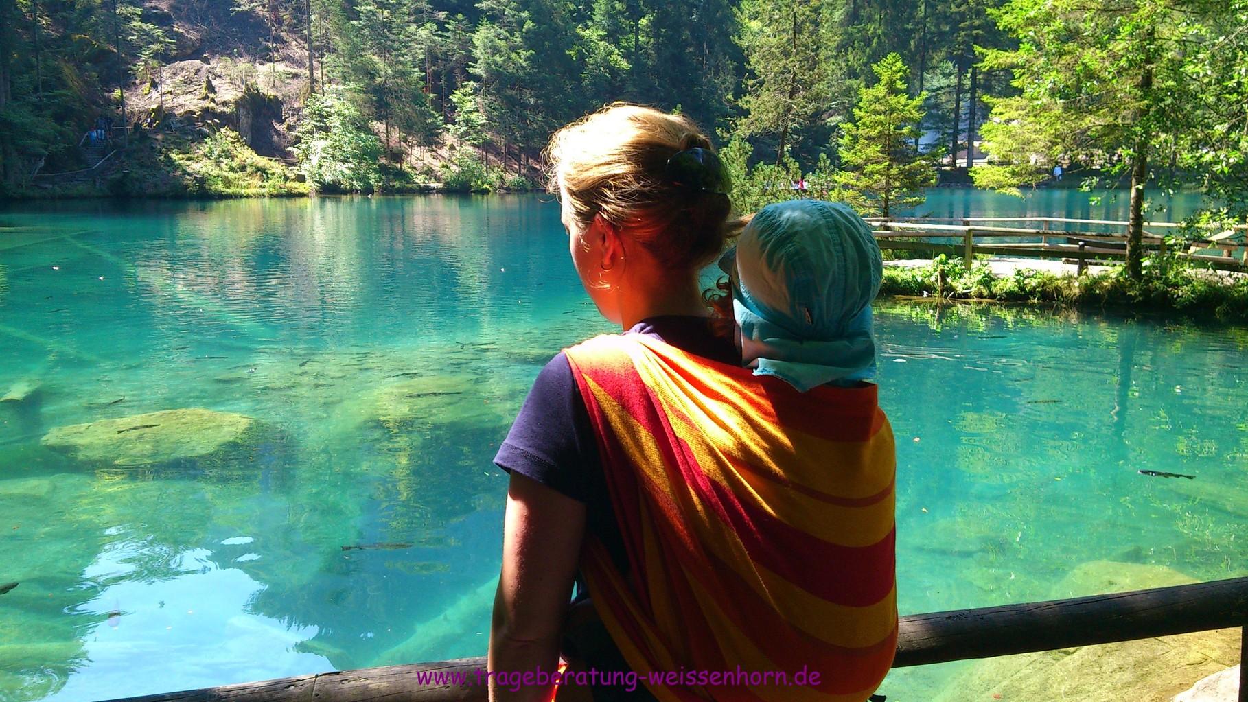 Am Blausee/Schweiz - ein Lieblingsfoto!