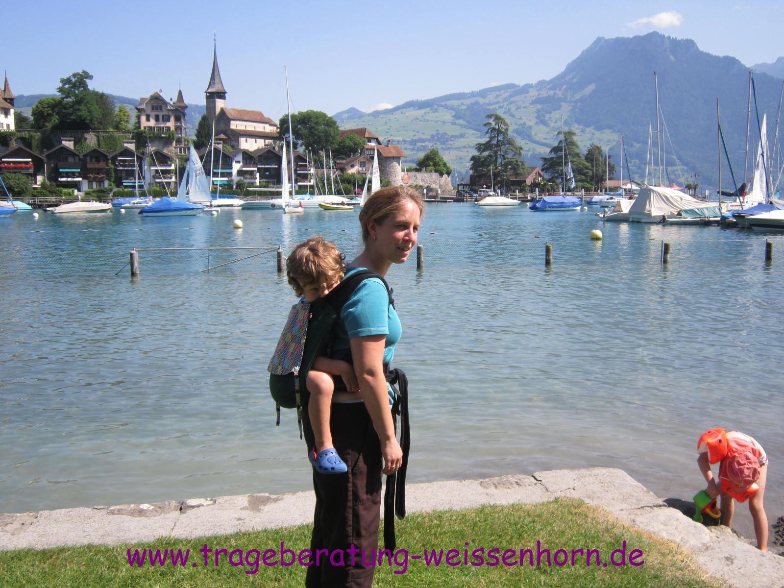 Pause am Thuner See/Schweiz