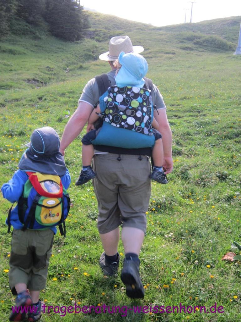 Wanderung mit Buzzidil XL