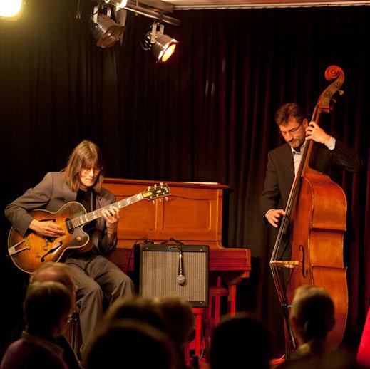 """""""Jazz'n Art"""" Andreas Streit und Jörn Baehr Foto: S.Elbst"""
