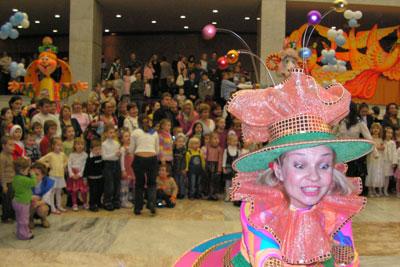 Jolka im Kreml Kinderfest Russland Neujahr