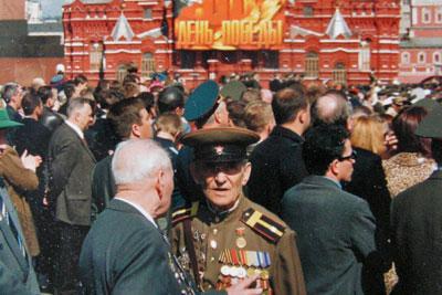 Tag des Sieges Roter Platz Moskau